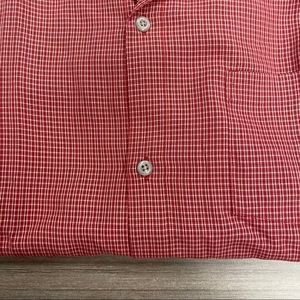 Quiksilver Shirts - Quicksilver plaid red shirt